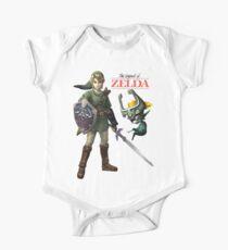 The Legend of Zelda  Short Sleeve Baby One-Piece