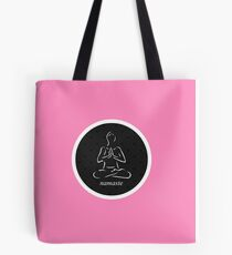 Yoga Namaste Calmness (White) Tote Bag