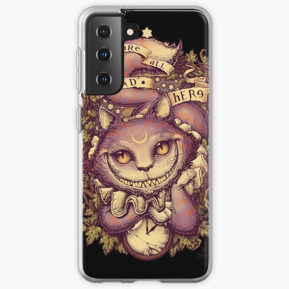 CHESHIRE CAT Samsung Galaxy Phone Case