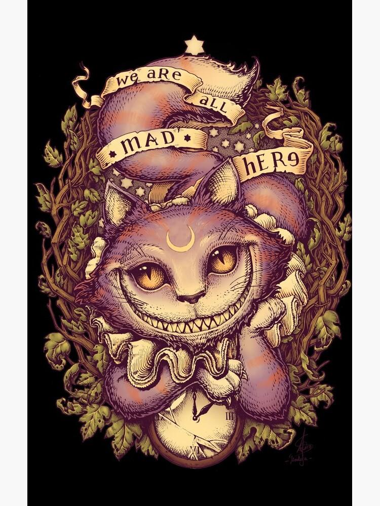 CHESHIRE CAT by medusadollmaker