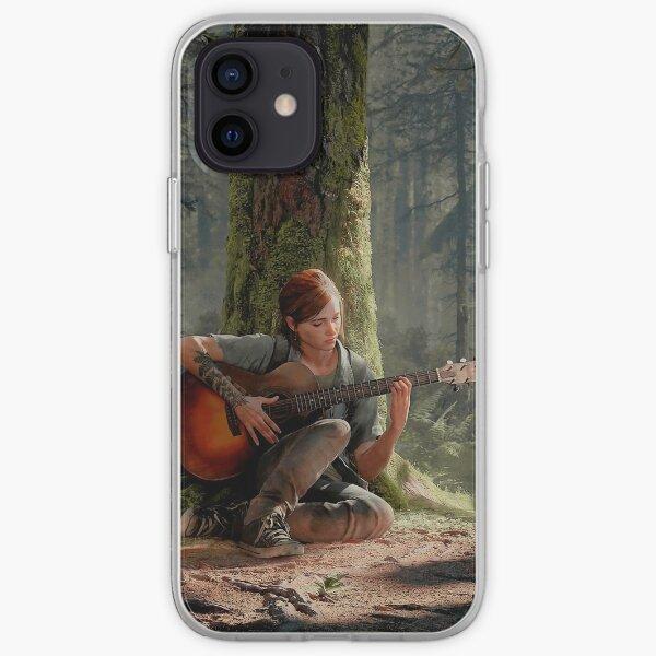 Ellie joue de sa guitare 4K | Le dernier d'entre nous, partie 2 Coque souple iPhone
