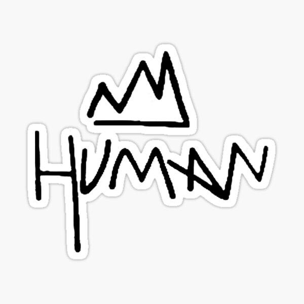 Miles McKenna - Human Sticker