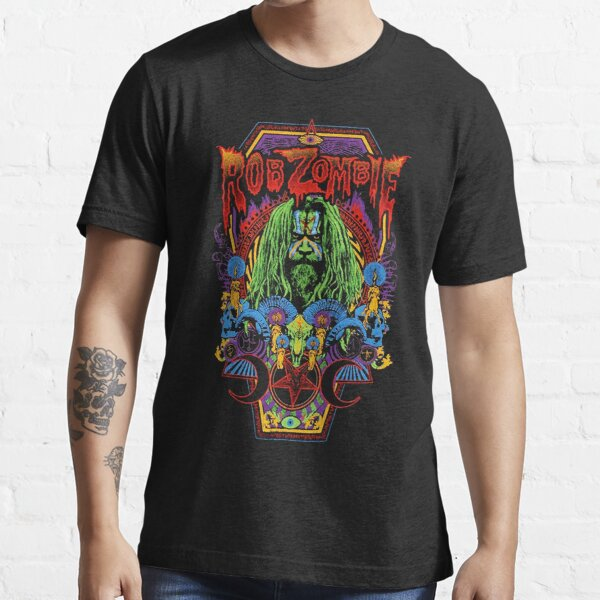 Rob band Zombie moon star vintage gift for fans and lovers Essential T-Shirt