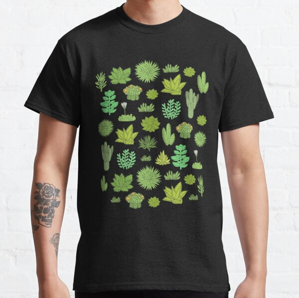 Succulents and cactus. For cacti plant lover Classic T-Shirt
