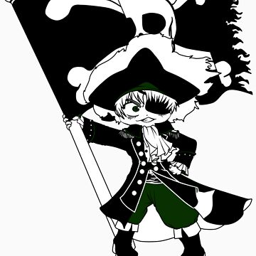 Pirate Captain England by ihateleeks