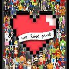 We Love Pixel by designatius