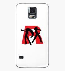 Team Rocket Line art Case/Skin for Samsung Galaxy
