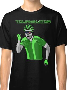 Tourminator Funny Cycling Terminator Parody T-shirt