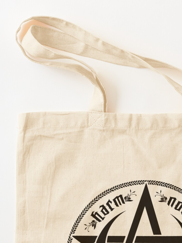 Alternate view of DO AS YE WILL - rede Tote Bag