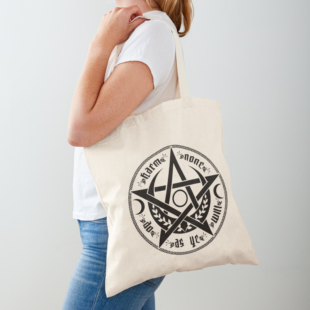 DO AS YE WILL - rede Tote Bag