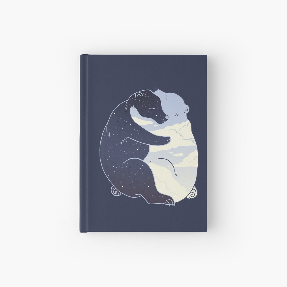 Day and Night Hardcover Journal