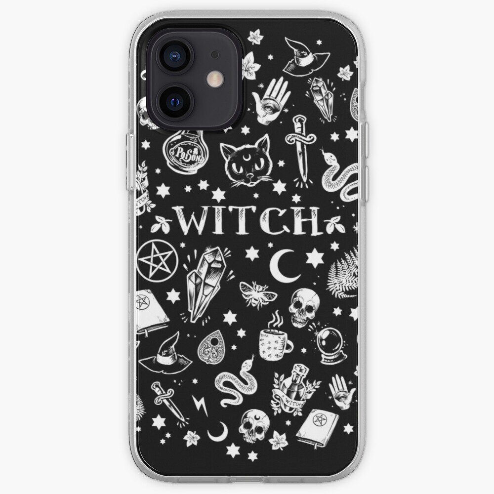 WITCH PATTERN 2 iPhone Case & Cover