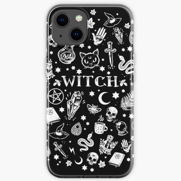 WITCH PATTERN 2 iPhone Soft Case