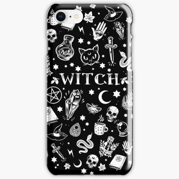 WITCH PATTERN 2 iPhone Snap Case