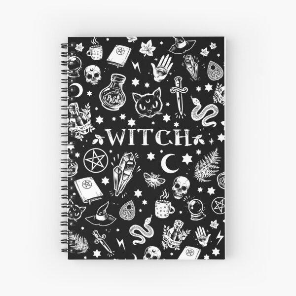WITCH PATTERN 2 Spiral Notebook