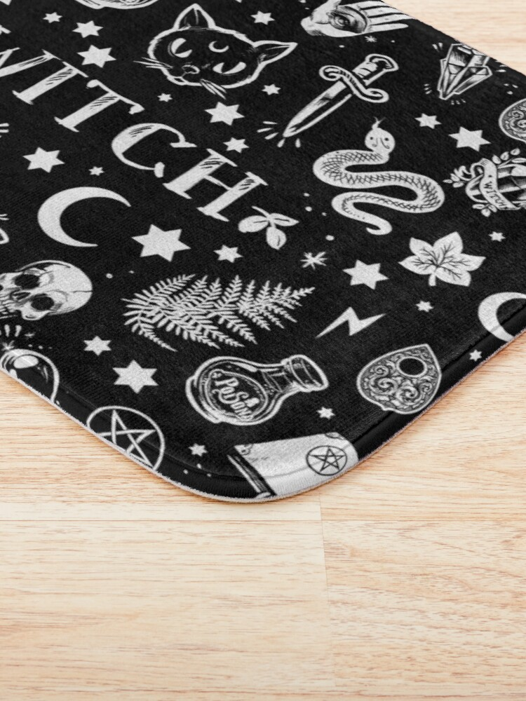 Alternate view of WITCH PATTERN 2 Bath Mat