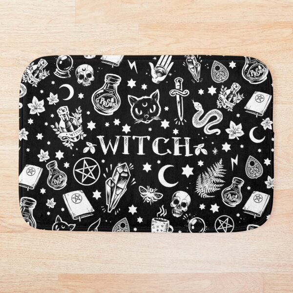 WITCH PATTERN 2 Bath Mat