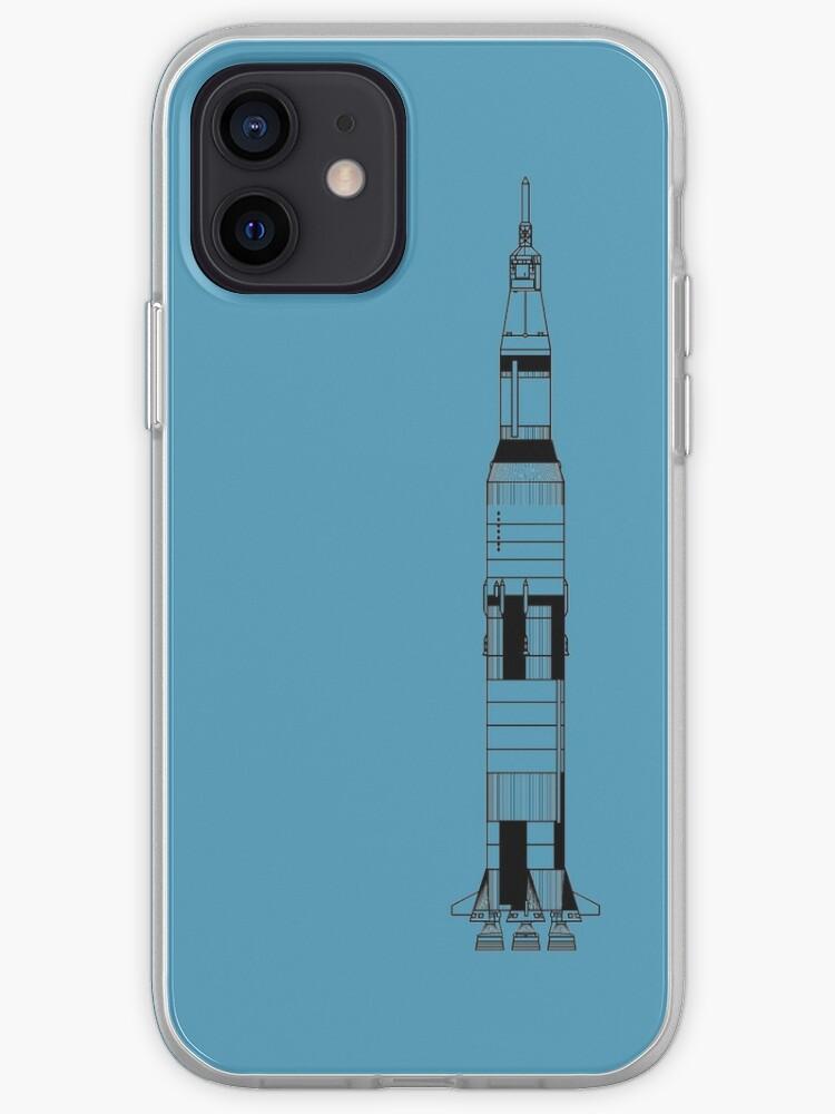 La fusée Saturne V de la mission Apollo | Coque iPhone