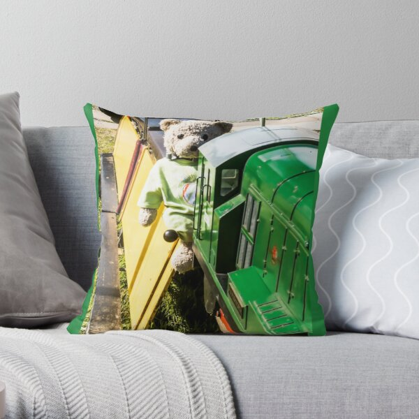 JoJo Bear the train Driver Throw Pillow