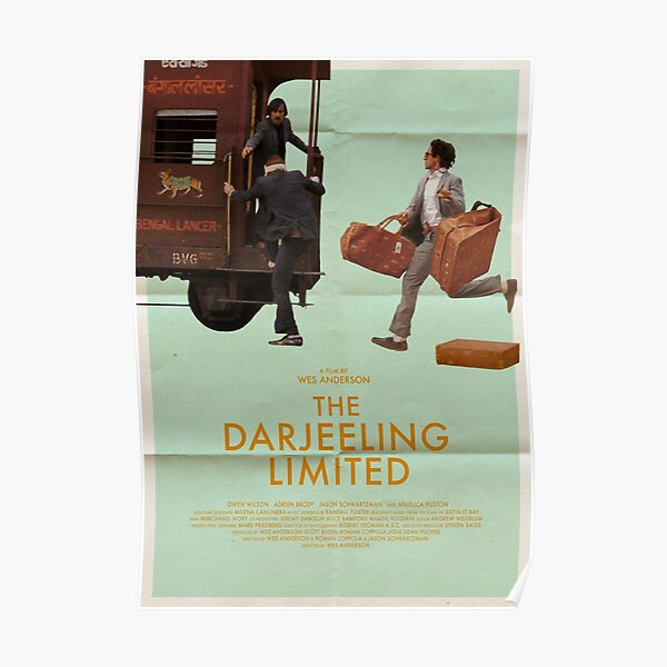 The Darjeeling Limited Film Alt-Poster Poster