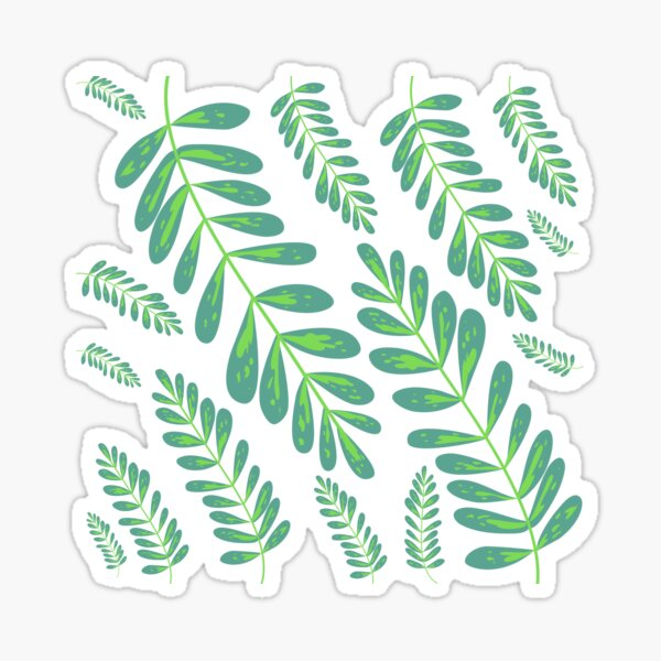 Leaf and Love Sticker