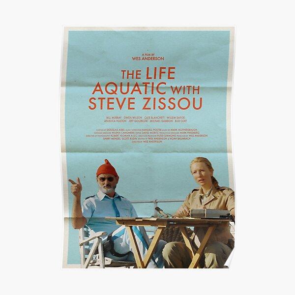 The Life Aquatic With Steve Zissou Film Alt-Poster Poster