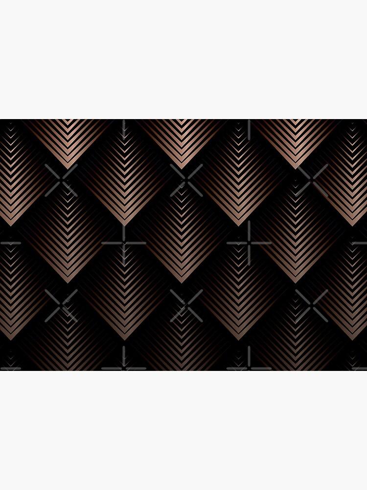 Schokoladen Bronze Dreiecke von brainbubbles