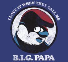 BIG Papa - Smurf, Bad Boy Collabo   Unisex T-Shirt