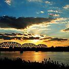 On The Ohio River by kentuckyblueman
