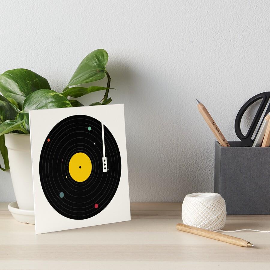 Music Everywhere Art Board Print