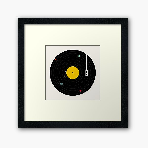 Music Everywhere Framed Art Print
