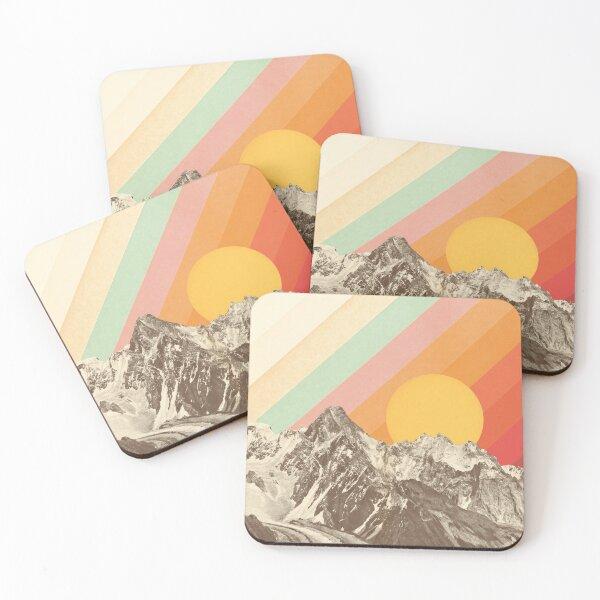 Mountainscape #1 Coasters (Set of 4)