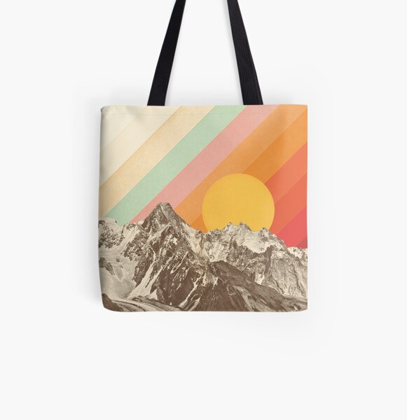 Mountainscape #1 All Over Print Tote Bag
