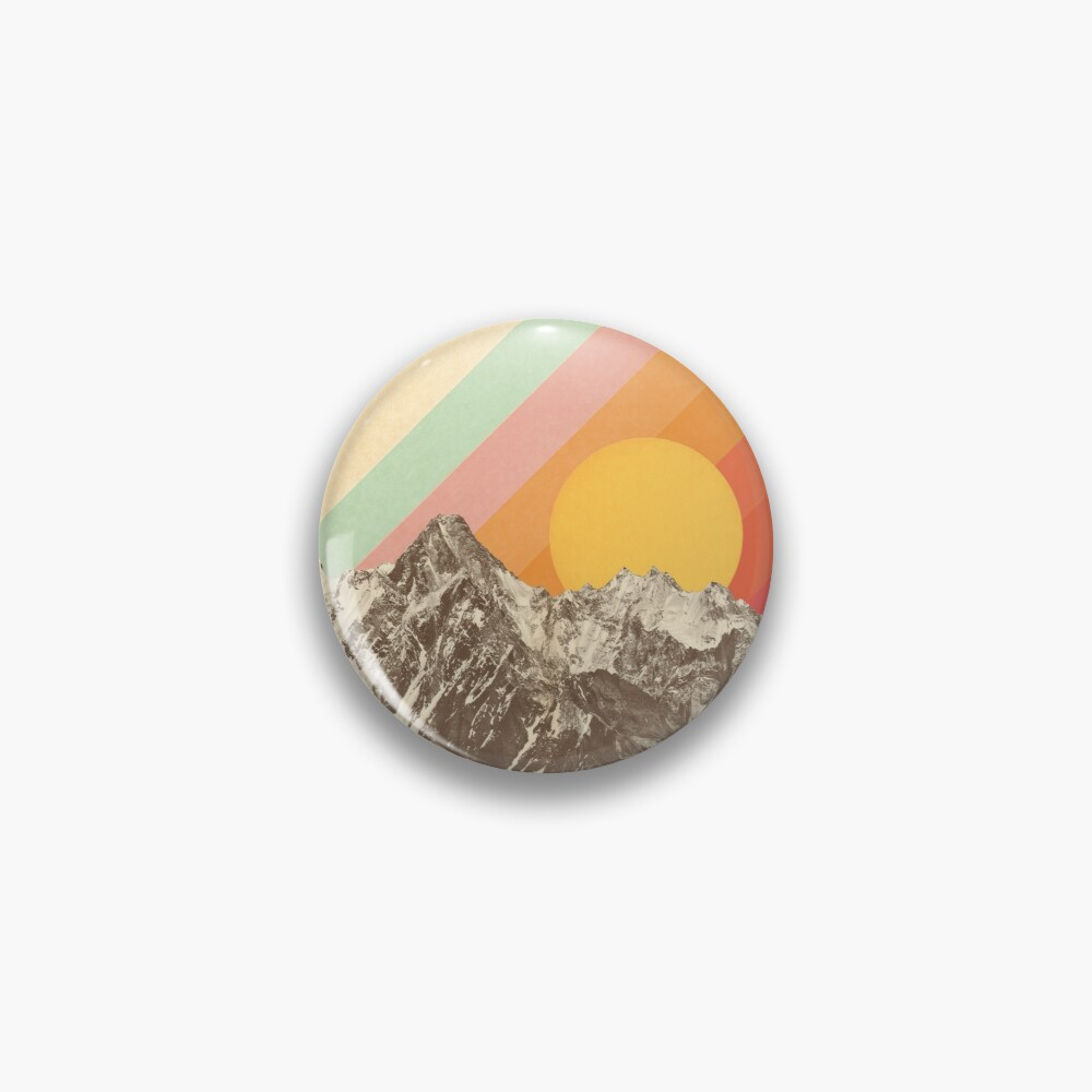 Mountainscape #1 Pin