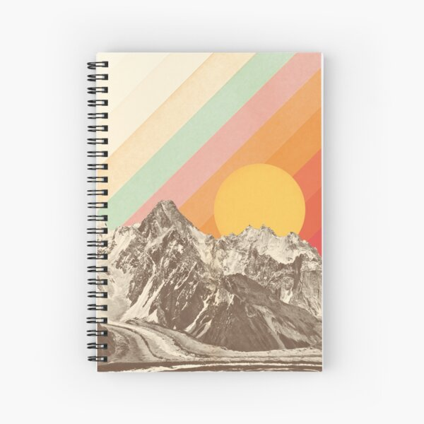 Mountainscape #1 Spiral Notebook
