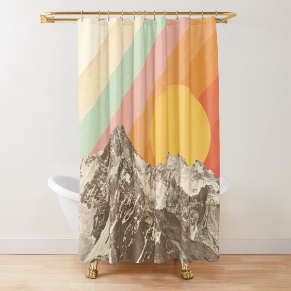Mountainscape #1 Shower Curtain
