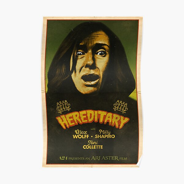 Hereditary Alt-Film Posters Poster