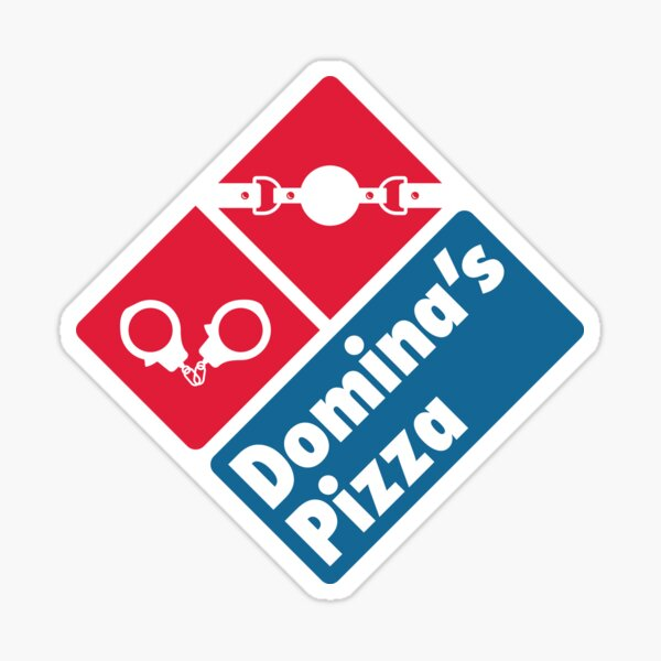 Domina's Pizza Sticker