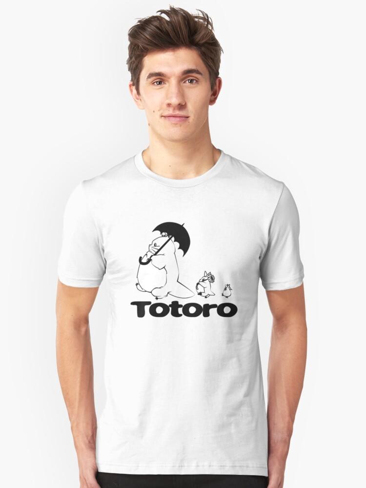 Totoro Walking by ihateleeks