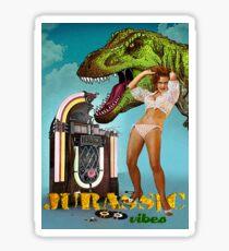 Jurassic Vibes Sticker