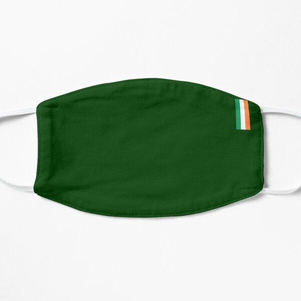 Simple Irish Flag Flat Mask