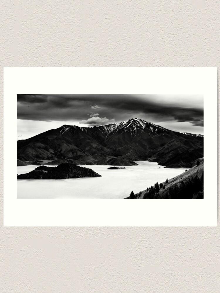 Alternate view of Avimore NZ Art Print