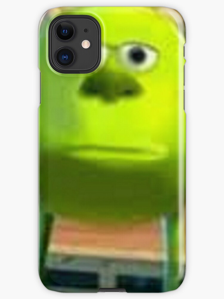 Best 2020 Mike Wazowski Monsters Inc Meme Iphone Case Cover By Artem322 Redbubble