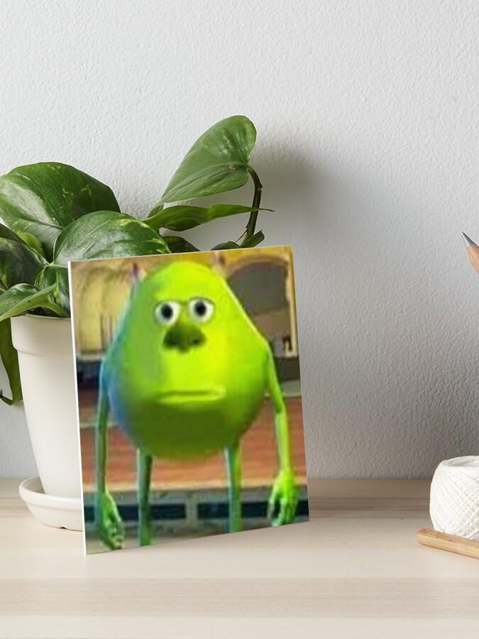 Best 2020 Mike Wazowski Monsters Inc Meme Art Board Print By Artem322 Redbubble