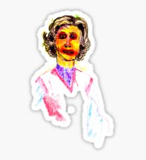 Knitted Lady #1 Sticker