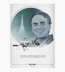 Carl Sagan Poster Photographic Print