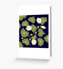 Through the maze of lilies Greeting Card