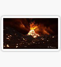Volcan Sticker