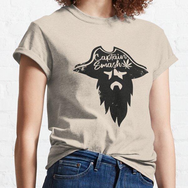 Captain Smash - black version Classic T-Shirt