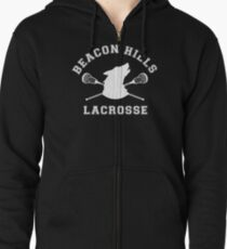 Beacon Hills Lacrosse Zipped Hoodie